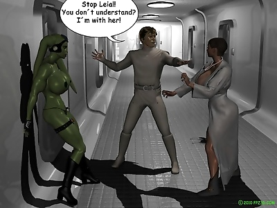 Leia gets beat down