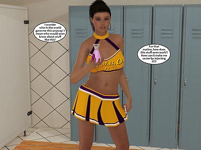 bimbo cheerleader - part 2