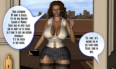 Secret of Teacher Azalea-..