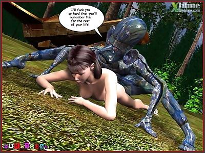 Alien Story - part 2