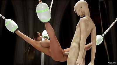 Erotic 3D Art – Alien..
