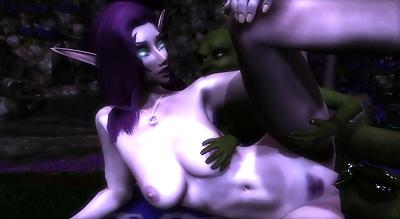 Goblin meets Night Elf -..