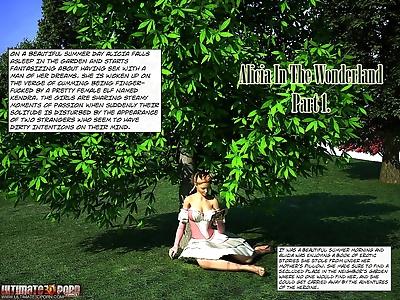 Alicia in the wonderland...