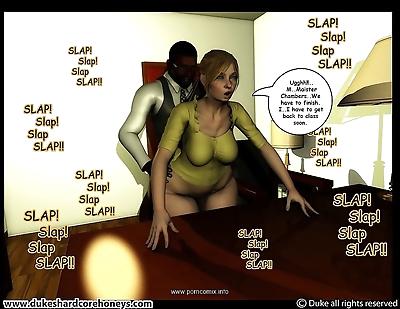 Mrs. Hani 3D Vol.10- Duke..