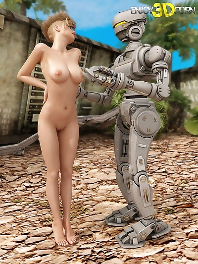 Time traveling robot fucks..