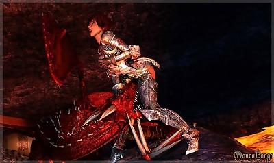 Bretonnia Knight - Dragons..