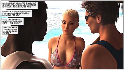 Sexy3DComics – Black Takes..