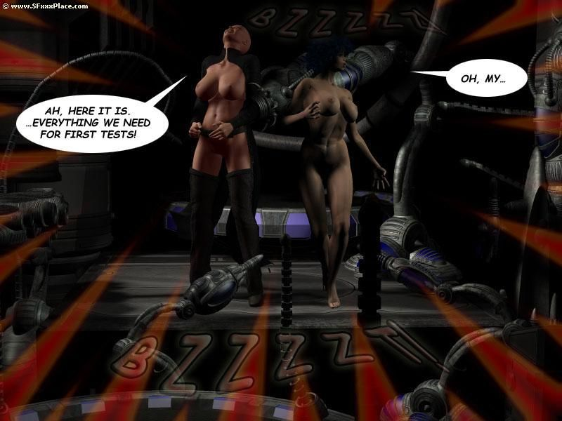 Sheena : Back to Space & Trial - part 5