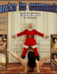 Blackadder- Santa is Cumming