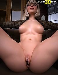 Sexy blonde babe exposes her super hot body - part 529