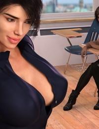 crazysky3d Monica un insegnante Con passione